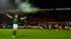 Garry Buckley of Cork City celebrates. Photo: Sportsfile