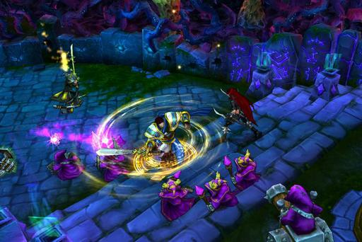 The Irish-based company derives its income from its online multiplayer battle arena computer video game, League of Legends. Photo: Riot Games
