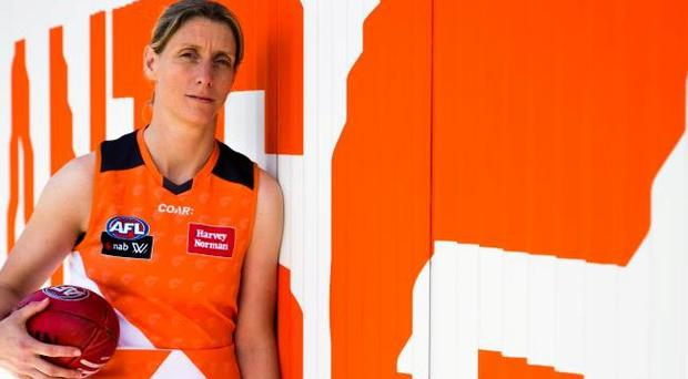 Mayo's Cora Staunton signs professional contract with Greater Western Sydney Giants in the AFLW