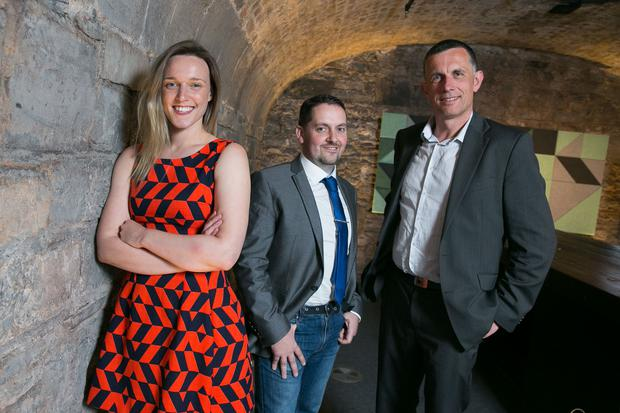 Aisling Byrne, Nu Wardrobe, Paddy Healy, Size/U and Vincent Farrelly, AquaRoot