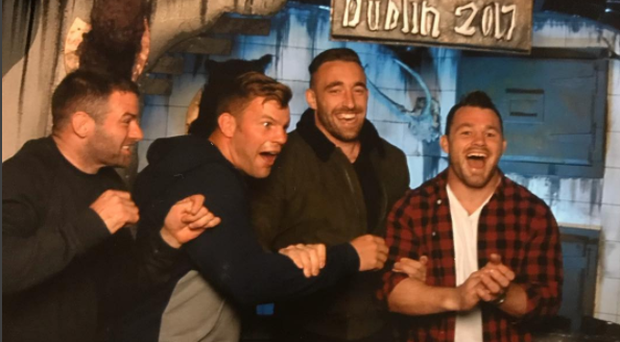 Jack Conan was a lot braver than most of his team-mates when Leinster visited a haunted house