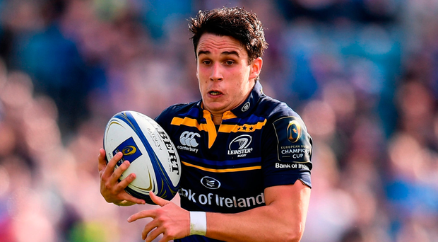 Joey Carbery is the last line of defence and he is revelling in the role as an attacking force. Photo: Sportsfile