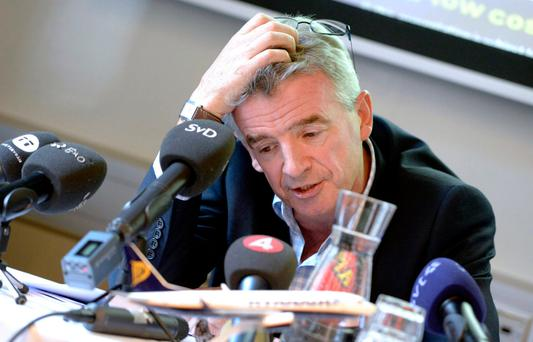 Ryanair chief Michael O'Leary Photo: AFP/Getty Images