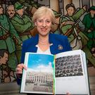 Minister Heather Humphreys launches Centenary, a book documenting the Ireland 2016 Centenary. Photo: Tony Gavin