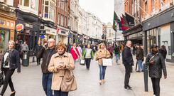 Dublin's vacancy rate of 3.9pc is set to fall next month with the opening of Victoria's Secret on Grafton Street
