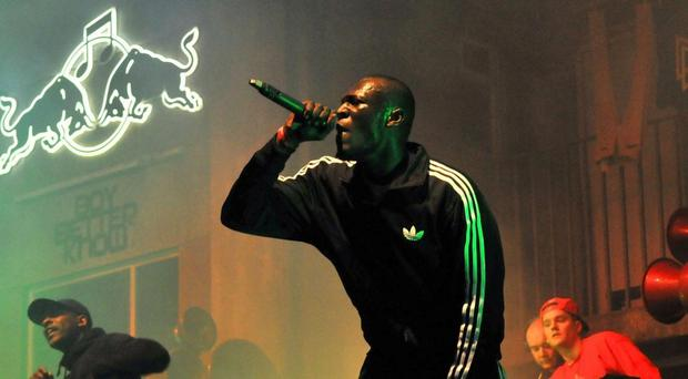 Rapper Stormzy criticised David James for his tweets on Eni Aloku;. Getty