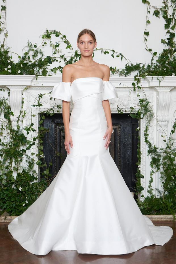 Monique Lhuillier Romantic Wedding Dress
