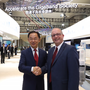 Ryan Ding, Executive Director of the Board and President of the Carrier Business Group of Huawei and Sean Atkinson, CEO of SIRO