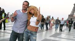 Pic shows: Irish bodyguard Geoffrey Keating and Rihanna