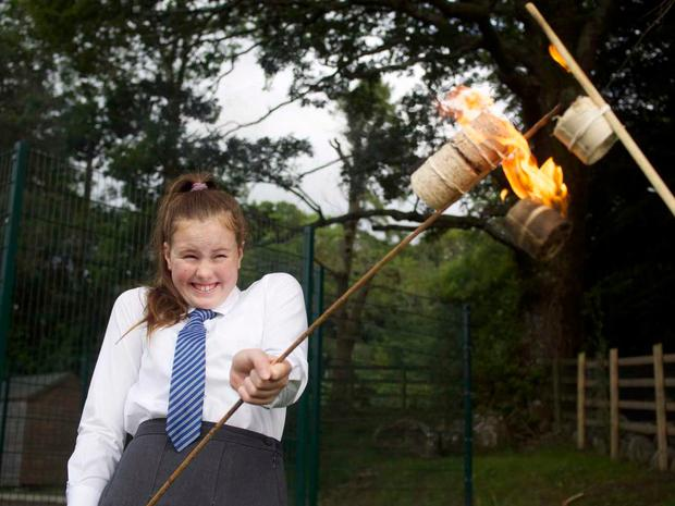 Scoil Chaoimhin Naofa National School pupil Holly Shanks