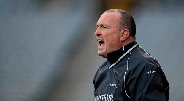24 February 2013; Leinster manager Pat Gilroy. M Donnelly Interprovincial Football Championship Final, Leinster v Ulster, Croke Park, Dublin. Picture credit: Brian Lawless / SPORTSFILE