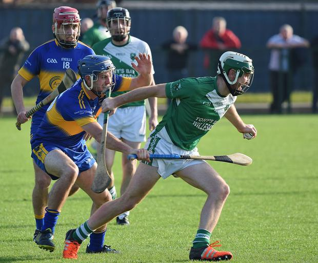 Underdogs Kilburn Gaels caused a major upset in the CityJet London GAA senior hurling final in Ruislip last Sunday when they prevented Robert Emmetts from winning a three in a row. Kilburn emerged victorious in the competition by 1-16 to 0-14.