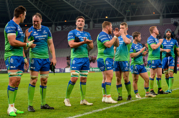 Pirtek fluid transfer solutions have been official partners for the past two years and will continue to have their logo displayed on the Connacht Rugby playing and training shorts. Photo by Sam Barnes/Sportsfile