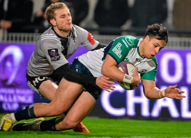 Guillaume Namy is surely the man who Oyonnax need to watch for. Picture credit: Ray Ryan / Sportsfile