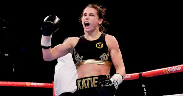 Katie Taylor is on the verge of a world title.