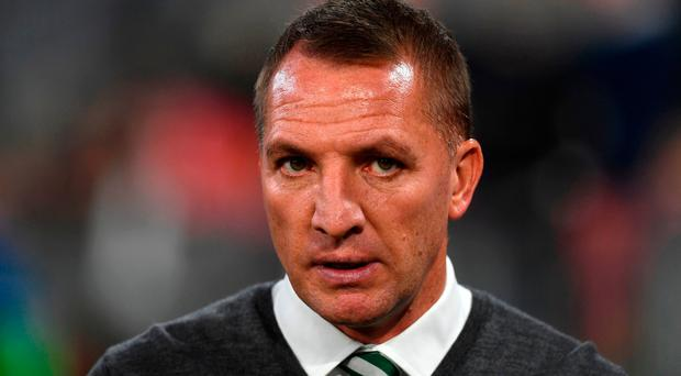 Celtic manager Brendan Rodgers. Photo: AFP/Getty Images