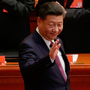 Xi Jinping at the congress in Beijing. Photo: Bloomberg.