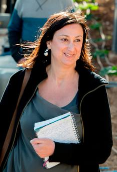 Journalist Daphne Caruana Galizia, who was murdered in Malta on Monday. Picture: AP