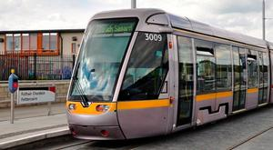 The 19-year-old was repeatedly punched in the face at the Fettercairn Luas stop in Tallaght before her attacker fled