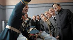 Dead pan: The cast in The Death Of Stalin deliver some comedy gold moments