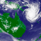 Weather satellite (Stock image)