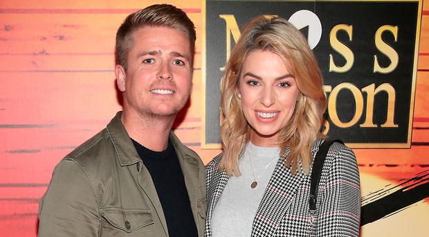 Brian Ormond and Pippa O'Connor at the opening night of Miss Saigon at The Bord Gais Energy Theatre, Dublin. Picture: Brian McEvoy