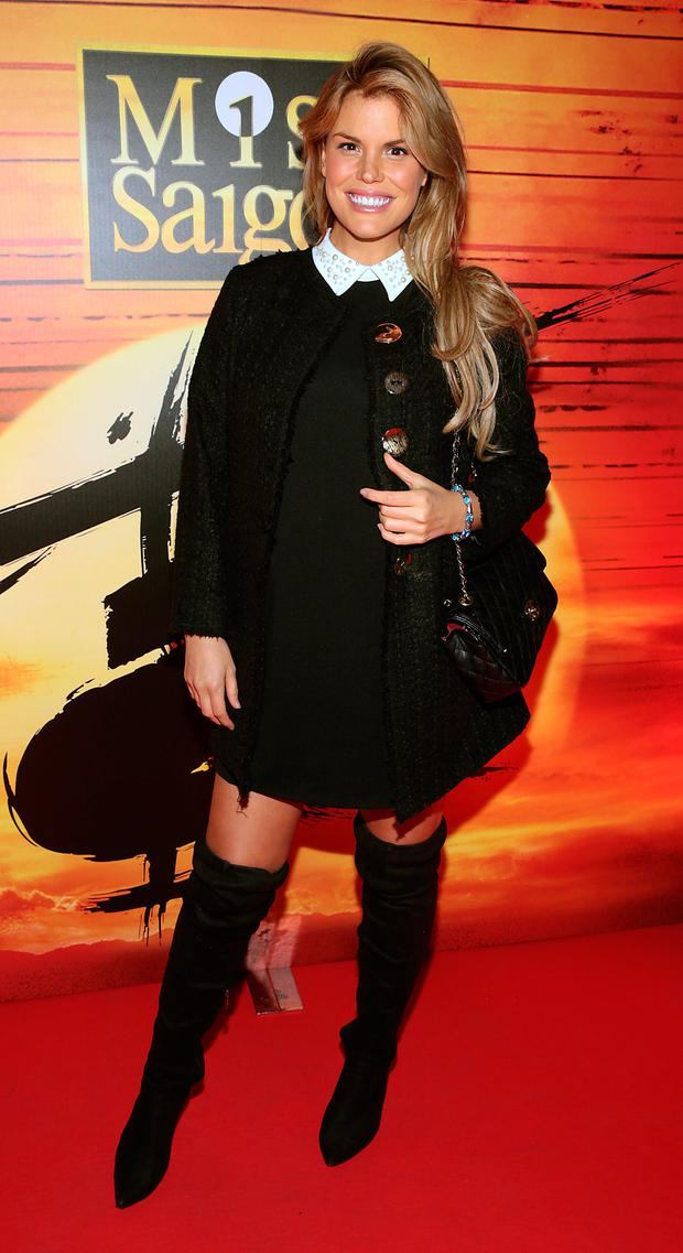 Roz Lipsett at the opening night of Miss Saigon at The Bord Gais Energy Theatre, Dublin. Picture: Brian McEvoy