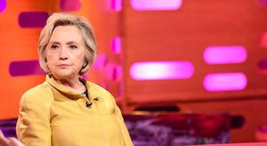 Hilary Clinton is on The Graham Norton Show tonight