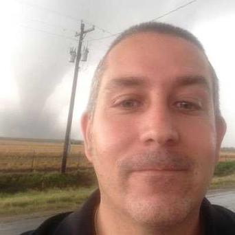 Canadian storm chaser Brad Murray