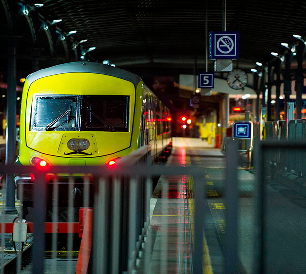 Idle trains will cause misery for thousands warns the AA's Conor Faughnan. Photo: Collins Photos