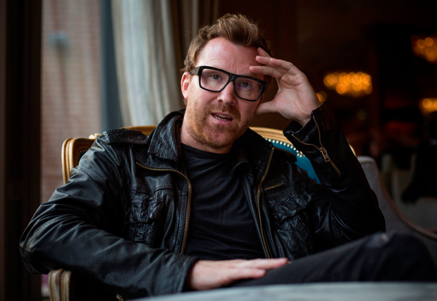 Comedian and friend Jason Byrne. Photo: Mark Condren