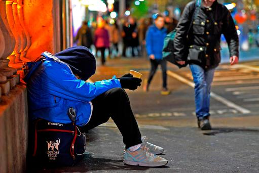Homeless people should not be denied basic rights. Photo: Douglas O'Connor.
