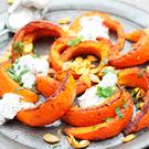 Indy Power's Spiced roast pumpkin wedges