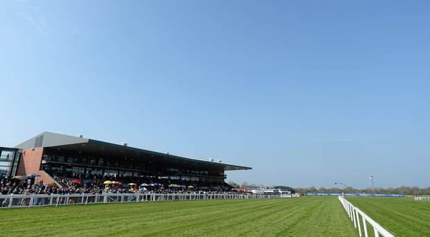 A general view of Fairyhouse Racecourse ahead of the Boylesports Irish Grand National Steeplechase. Fairyhouse Easter Festival, Fairyhouse, Co. Meath. Picture credit: Brendan Moran / SPORTSFILE