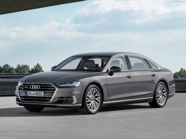 New Audi A8 is heaving with technology