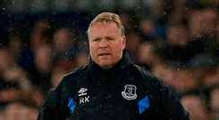 'In Koeman's defence there is no question he has been unlucky with injuries.' Photo: Reuters