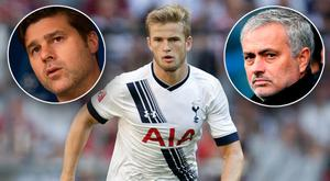 Tottenham held on to Eric Dier amid Manchester United's interest. Getty