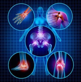 Arthritis can be found in a lot of joints in the body. The hand, knee, hip and shoulder are the most common