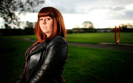 Allison Paisley developed the condition four years ago and is Chairperson of Young Arthritis Ireland. Pic: Gerry Mooney