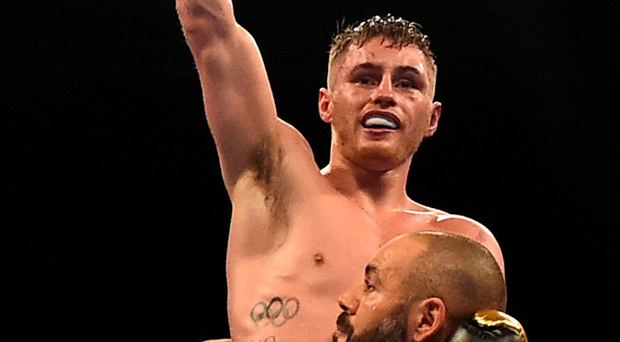 Ryan Burnett defended his world title in Cardiff. Photo: Reuters