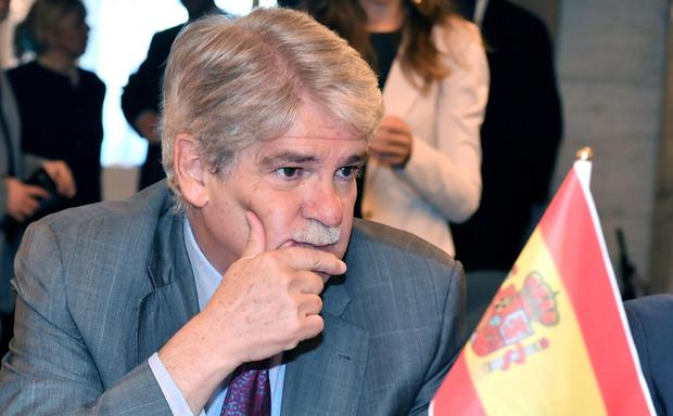 Spanish Foreign Minister Alfonso Dastis. Photo: AFP/Getty Images