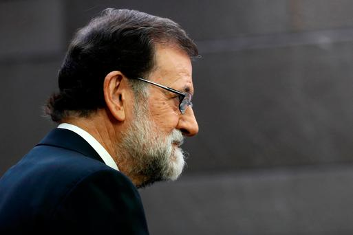 Spain's Prime Minister Mariano Rajoy. Photo: REUTERS/Juan Medina