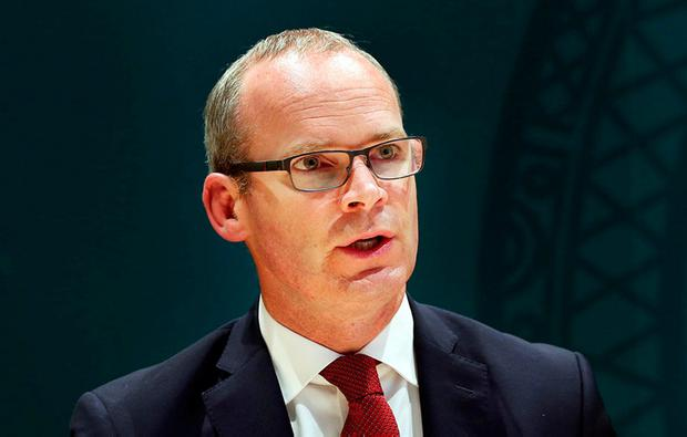 Foreign Affairs Minister Simon Coveney. Photo: Steve Humphreys