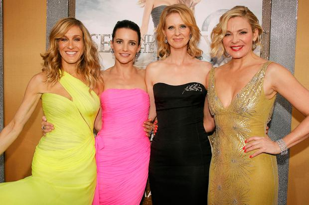 Sarah Jessica Parker, Kristin Davis, Cynthia Nixon and Kim Cattrall starred in 'Sex and The City'. Photo: AP