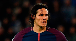 Paris Saint-Germain's Uruguayan forward Edinson Cavani Photo: AFP/Getty