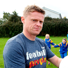Earlier on the same day as after Dyer spoke, Damien Duff (p) was outlining his approach as Shamrock Rovers under 15s manager and the contrast was striking.