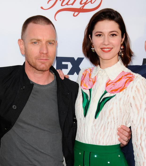 Actor Ewan McGregor and actress Mary Elizabeth Winstead attend the