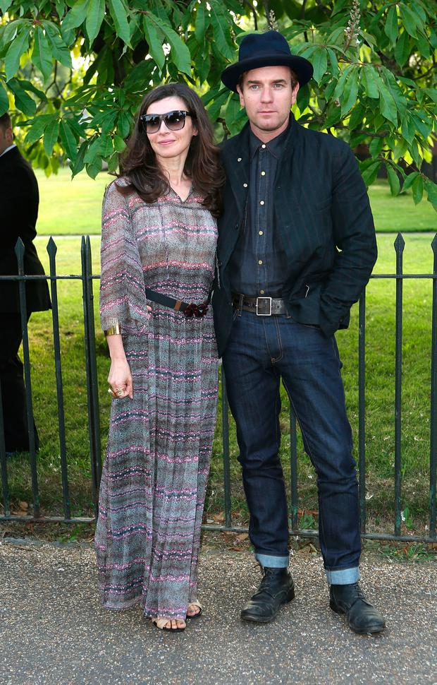 Eve McGregor and Ewan McGregor attend the annual Serpentine Gallery summer party at The Serpentine Gallery on June 26, 2013 in London, England. (Photo by Tim P. Whitby/Getty Images)