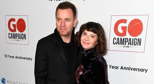 Actor Ewan McGregor and wife Eve Mavrakis attend the 10th Annual GO Campaign Gala at Manuela on November 5, 2016 in Los Angeles, California. (Photo by Frazer Harrison/Getty Images)
