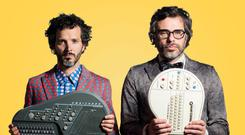 Flight of the Conchords sing Flight of the Conchords is coming to Dublin